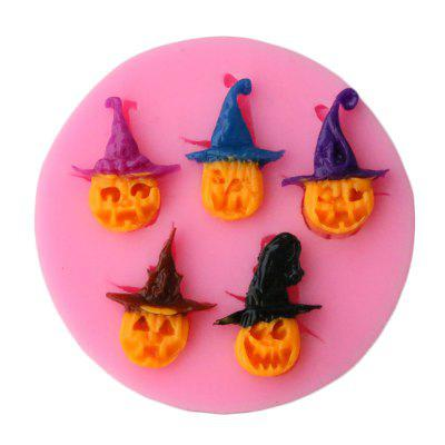 Facemile Halloween Pumpkin Imp Shape Silicone Mold Soap Fondant Candle Molds Chocolate Moulds Silicone Molds For Cakes