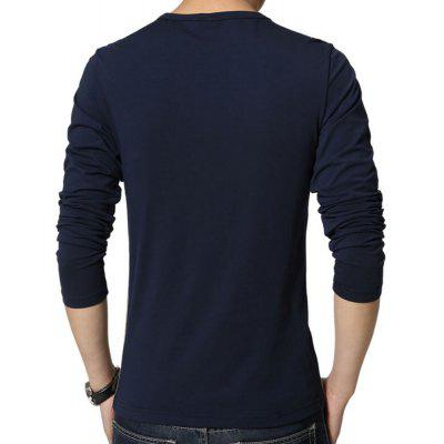 MenS Long Sleeve Patchwork T-ShirtMens T-shirts<br>MenS Long Sleeve Patchwork T-Shirt<br><br>Collar: Round Neck<br>Fabric Type: Broadcloth<br>Material: Cotton, Polyester<br>Package Contents: 1 x T-Shirt<br>Pattern Type: Patchwork<br>Sleeve Length: Full<br>Style: Fashion<br>Weight: 0.2600kg