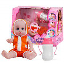 Children'S Intelligence Bottle Dolls Educational Doll Will Cry Laugh To Feed Baby Girl Toys