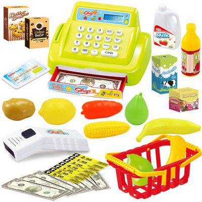 Children Multi-function Simulation Supermarket Cash Register Playing house Toys