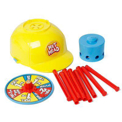 Wet Water Challenge Hat Cap Wheel Party Trick Game Toys
