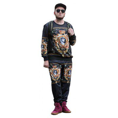 2017 Autumn and Winter New Trend of Large Size MenS Sweatshirt PCW70034BPlus Size Outerwear<br>2017 Autumn and Winter New Trend of Large Size MenS Sweatshirt PCW70034B<br><br>Clothes Type: Others<br>Collar: Round Collar<br>Crafts: Printing<br>Material: Polyester, Spandex<br>Occasion: Daily Use<br>Package Contents: 1 x Sweatshirt<br>Season: Fall<br>Shirt Length: Regular<br>Sleeve Length: Long Sleeves<br>Style: Fashion<br>Weight: 0.5000kg