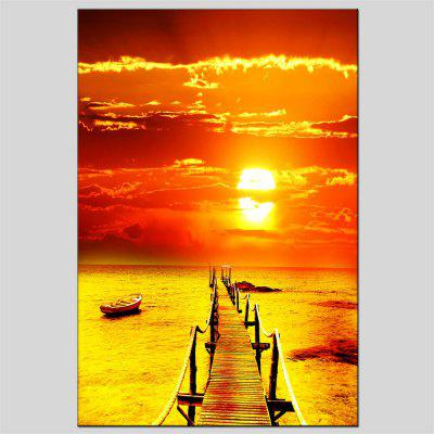 Hua Tuo The Setting Sun Oil Painting Size 60 x 90CM OSR-160647