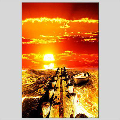 Hua Tuo The Setting Sun Oil Painting Size 60 x 90CM OSR-160648