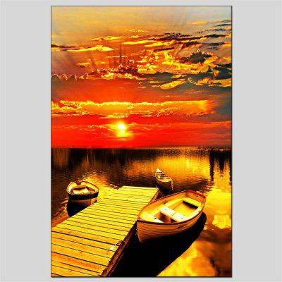 Hua Tuo The Setting Sun Oil Painting Size 60 x 90CM OSR-160649