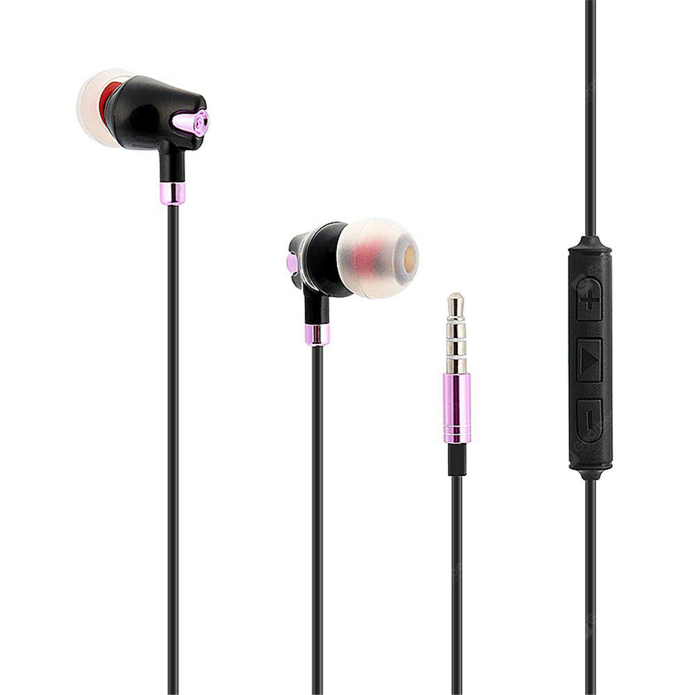 3.5mm In-ear Stereo Music Earbud Headphones with Microphone