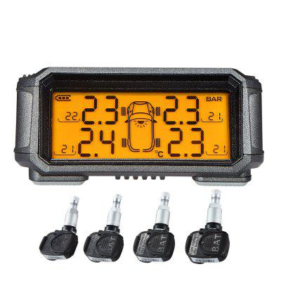 Solar Power Big Screen Imported Smart Chip High Sensitivity Built-In Tire Pressure Monitoring System