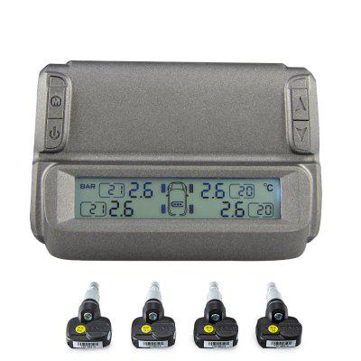 Solar Power Digital Display Imported Smart Chip High Sensitivity Windshield Built-In Tire Pressure Monitoring System