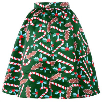 Christmas Crutches Printed SkirtsSkirts<br>Christmas Crutches Printed Skirts<br><br>Elasticity: Elastic<br>Embellishment: Spliced<br>Fabric Type: Twill<br>Length: Mini<br>Material: Cotton, Polyester<br>Package Contents: 1 x Skirts<br>Package weight: 0.3000 kg<br>Pattern Type: Print<br>Silhouette: A-Line<br>With Belt: No