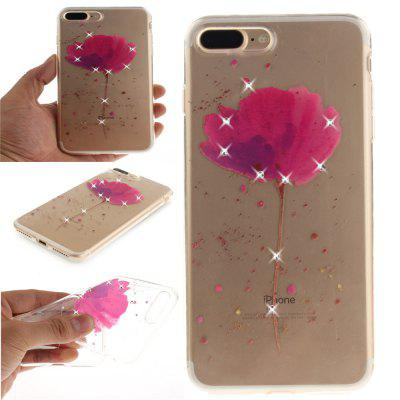 Song For Orchid Soft Clear IMD TPU Phone Casing Estojo de capa móvel Mobile Shell para iPhone 7 Plus