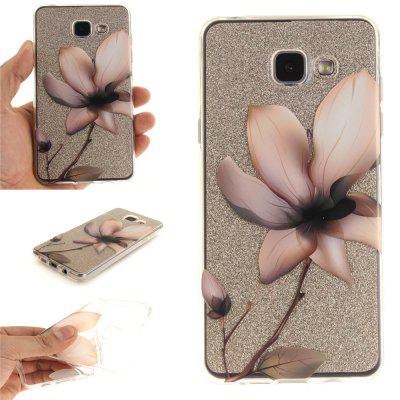 Magnolia Soft Clear IMD TPU Phone Casing Mobile Smartphone Cover Shell Case for Samsung A310 2016
