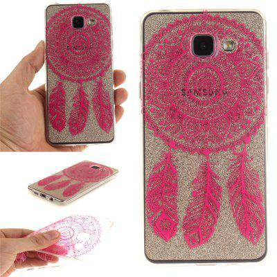 Rose Bell Soft Clear IMD TPU Phone Casing Mobile Smartphone Cover Shell Case for Samsung A310 2016