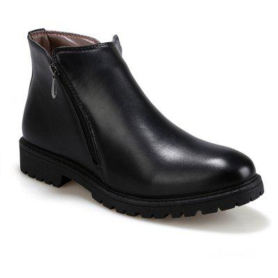 Men Leather Shoes Fashion Leisure British outdoor Boots