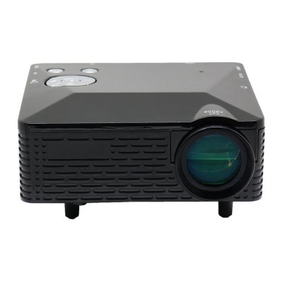 Buy QE-470 Projector Portable Mini LED Home Hometheater HDMI 1920*1080 Projectores BLACK for $73.46 in GearBest store
