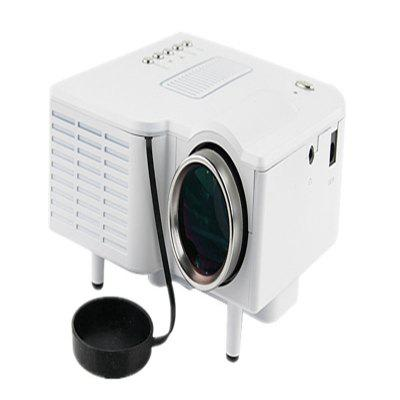 UC28 Projector Mini Portable LED 400 Lumens 1080P HD Home Theater Cinema Projectores