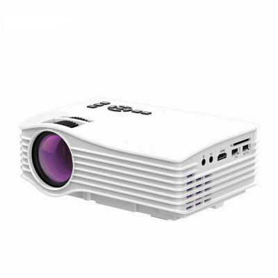 UC36 Projector Portable Mini LED Full Color 1080P 1200 Lumens 640X480 Home Theater HDMI USB Projector for Android IOS