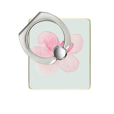 Plum Blossom Pattern Cell Phone Ring Stand Holder for Phone 360 Degree Rotation