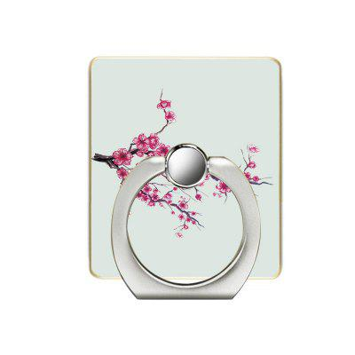 Plum Branches Pattern Cell Phone Ring Stand Holder for Phone 360 Degree Rotation