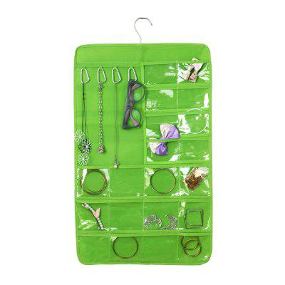 7 Double-Sided Non-Woven Multi-Functional Jewelry Storage Bag