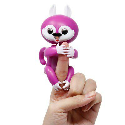 Fingers Interactive Baby Squirrel Pet Kids Smart Colorful Fingers Smart Induction Electronic ToyNovelty Toys<br>Fingers Interactive Baby Squirrel Pet Kids Smart Colorful Fingers Smart Induction Electronic Toy<br><br>Features: Creative Toy<br>Materials: PVC, ABS<br>Package Contents: 1 x  Finger Toy,   4 x LR48 Button battery<br>Package size: 11.00 x 5.60 x 15.00 cm / 4.33 x 2.2 x 5.91 inches<br>Package weight: 0.1300 kg<br>Product weight: 0.0850 kg<br>Series: Entertainment<br>Theme: Other