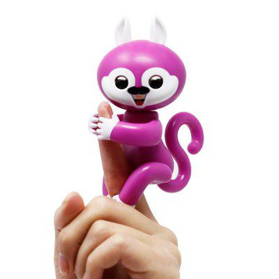 Fingers Interactive Baby Squirrel Pet Kids Smart Colorful Fingers Smart Induction Electronic Toy