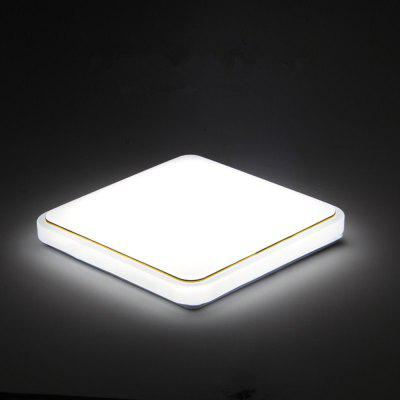 36 Watts Modern Simplified LED Square Suction Dome Light 30 X 30 CM