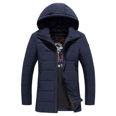 2017 Men's Warm And Fashionable Zipper Cotton Clothing