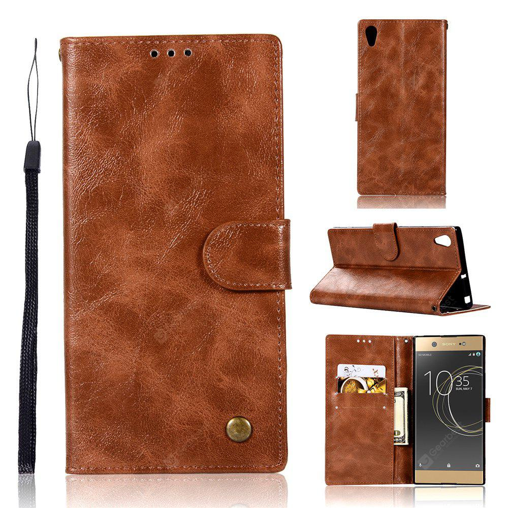 Extravagant Retro Fashion Flip Leather Case PU Wallet Case For Sony Xperia XA1 Plus Case Phone Bag with Stand