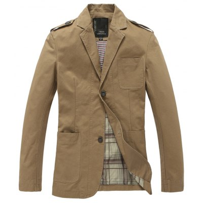 Pure Cotton Fashion Jacket