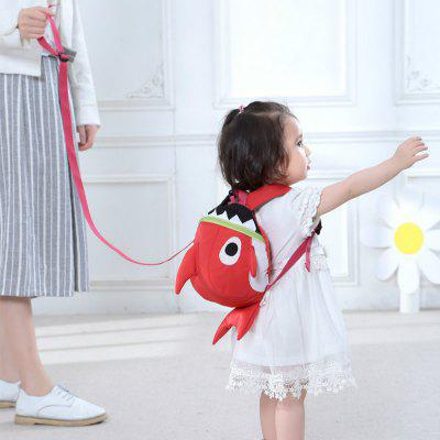 Buy RED SUNVENO Cartoon Baby Harness Toddler Safety Backpack Anti-lost Strap Walking Backbag Child Safety Wristbands for $35.74 in GearBest store