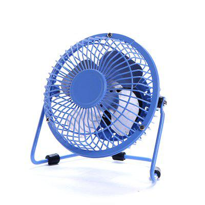 Small Quiet Desk Fan Usb 4 Inch Metal Antique Desktop Ed Mini Personal