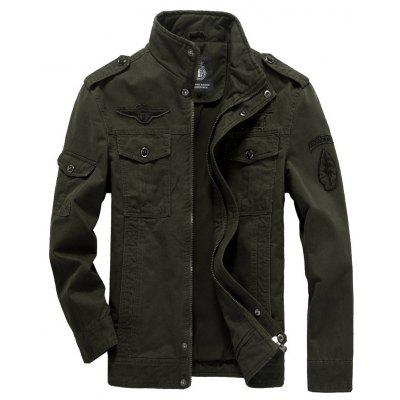 new Men'S Jackets Military Casual Wear Large Size Men'S Clothing