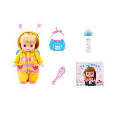 Yellow Bee Emulation Doll Girl Toy