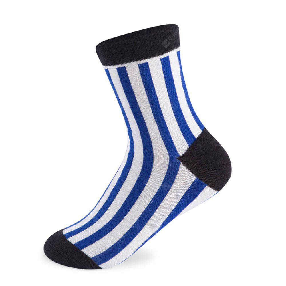 COLORMIX Vertical Stripes Elastic Knitting Socks N201612 5 Pairs