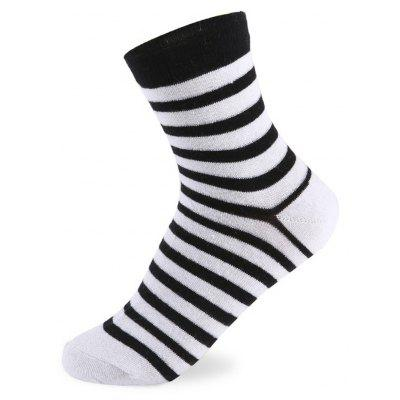 Buy COLORMIX Stripes Graphic Elastic Knit Socks N201612 5 Pairs for $19.39 in GearBest store