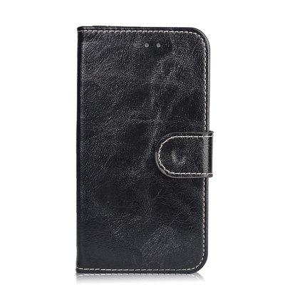 Buy BLACK Case for Oukitel K6000 Pro Leather Wallet Flip Cover for Oukitel K6000 Pro 5.5 inch Stand Protective Phone Bags for $5.41 in GearBest store