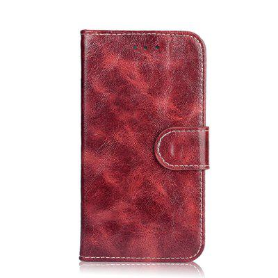 Buy WINE RED Case for Oukitel K6000 Pro Leather Wallet Flip Cover for Oukitel K6000 Pro 5.5 inch Stand Protective Phone Bags for $5.41 in GearBest store