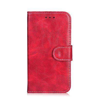 Buy RED Case for Oukitel K6000 Pro Leather Wallet Flip Cover for Oukitel K6000 Pro 5.5 inch Stand Protective Phone Bags for $5.41 in GearBest store