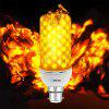 BRELONG LED Flame gloeilampemulatie Flaming decoratieve lamp - B22 - WARM WIT