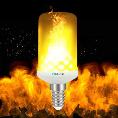 BRELONG E14 LED Flame Effect Fire Light Bulbs 2835 x 99SMD AC85 - 265V