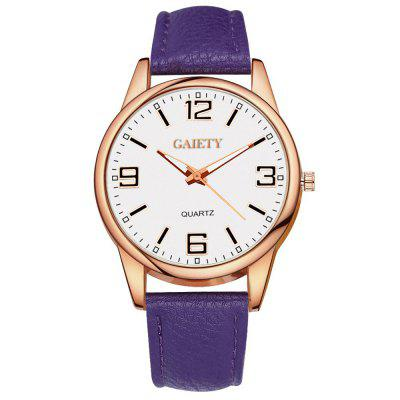 GAIETY G136 Ladies Fashion Leather Watch