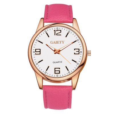 GAIETY G136 Ladies Leather Leather Watch