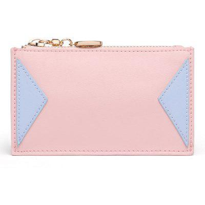 STIYA Women's Middle Compact Soft Leather Pocket Wallet Ladies Coin Purse with Key Ring