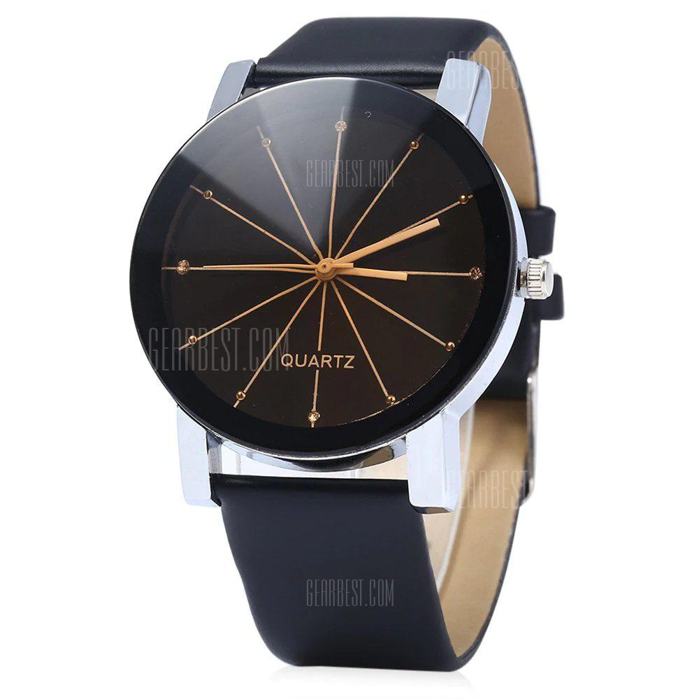 REEBONZ Fashion Sun Rays Quartz Watch