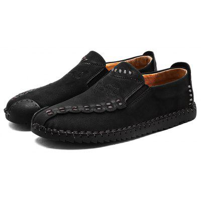 Four Seasons Cattle Hide Two Layers of Leather Rubber Bottom Men'S Handmade Sewing and Leisure Leather Shoes 666 prava mayengbam haematological and blood biochemical profile of frieswal cattle
