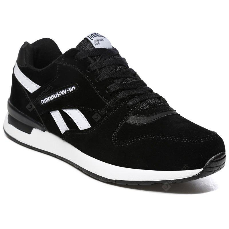 Pig Leather Rubber Bottom Sports Casual Shoes
