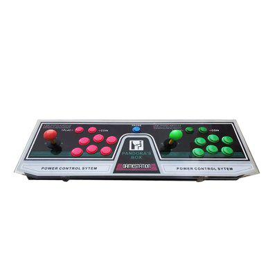 1220 Video Games Arcade Console Machine Double Joystick Pandora's Box Mccxx VGA HDMI US Plug 3  -  RED + GREEN + YELLOW