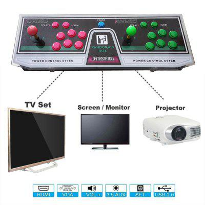 1220 Video Games Arcade Console Machine Double Joystick Pandoras Box Mccxx VGA HDMI  EU Plug 9Handheld Games<br>1220 Video Games Arcade Console Machine Double Joystick Pandoras Box Mccxx VGA HDMI  EU Plug 9<br><br>Brand: Other<br>Charge way: AC adapter<br>Compatible with: TV, PC, MIMU TV, Built-in Games, Game Console<br>Language: English<br>Operating system: Android<br>Package Contents: 1x Arcade Console , 2x buttons, 1x HDMI Cable , 1x USB Cable,  1x VGA Cable  , 1x 12V3A Power adapter ,1x EU Plug, 1x English User manual<br>Package size: 71.00 x 25.00 x 17.00 cm / 27.95 x 9.84 x 6.69 inches<br>Package weight: 5.0000 kg<br>Pre-positioned Games Number: 1220<br>Product size: 66.00 x 22.50 x 6.50 cm / 25.98 x 8.86 x 2.56 inches<br>Product weight: 3.2200 kg<br>ROM: 16GB