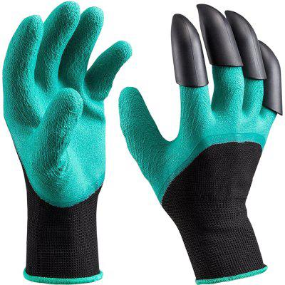 Garden Genie Gloves With Claws Quick and Easy to Dig and Plant, Safe for Gardening Digging and Planting