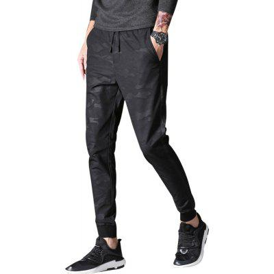 Buy New Mens Fashion Sweatpants Pants Camouflage Fashion Slim Harem Pants Men Printing Joggers Pants DARK GREY 30 for $16.68 in GearBest store